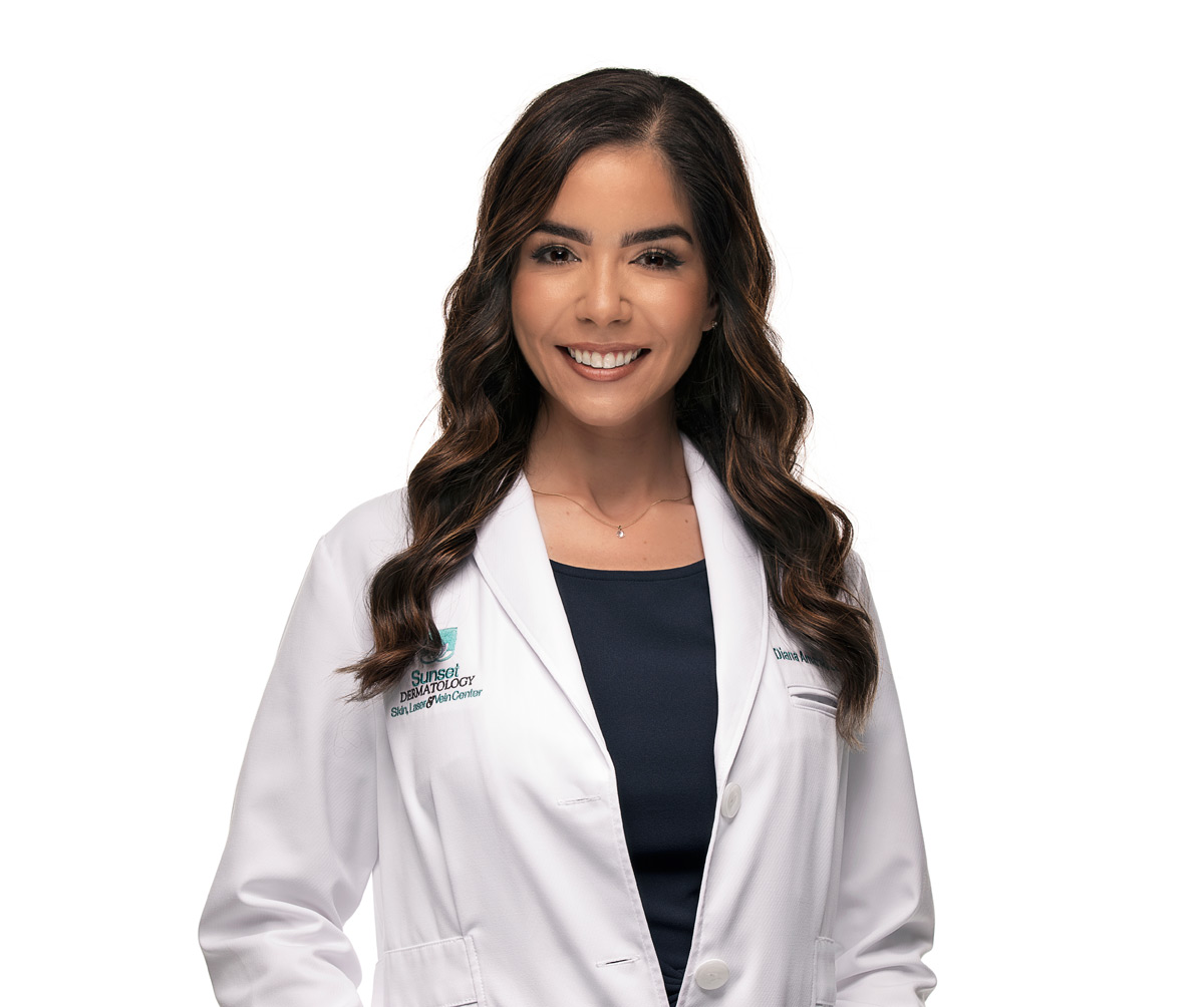 Diana Amaral, LE, Licensed Aesthetician at Sunset Dermatology in South Miami.