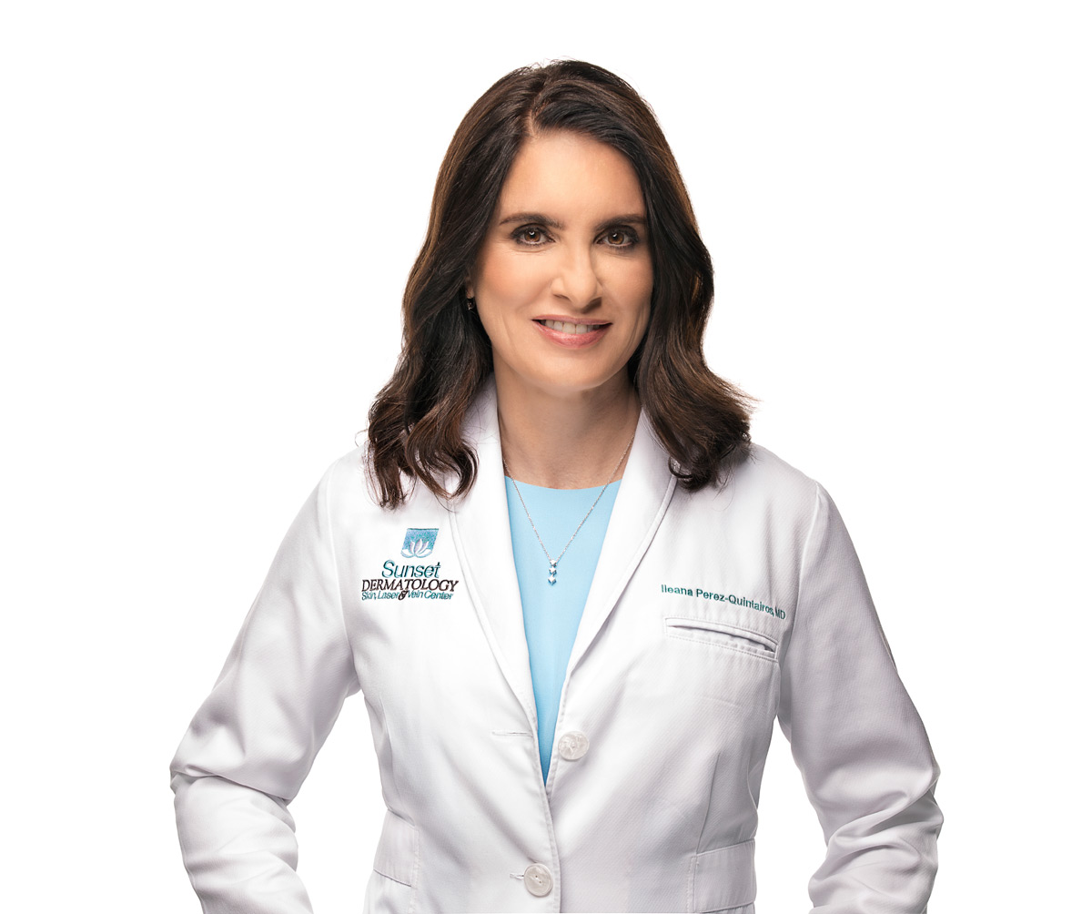 Ileana Perez-Quintairos, MD, Board Certified Dermatologist at Sunset Dermatology in South Miami. Photo #2.