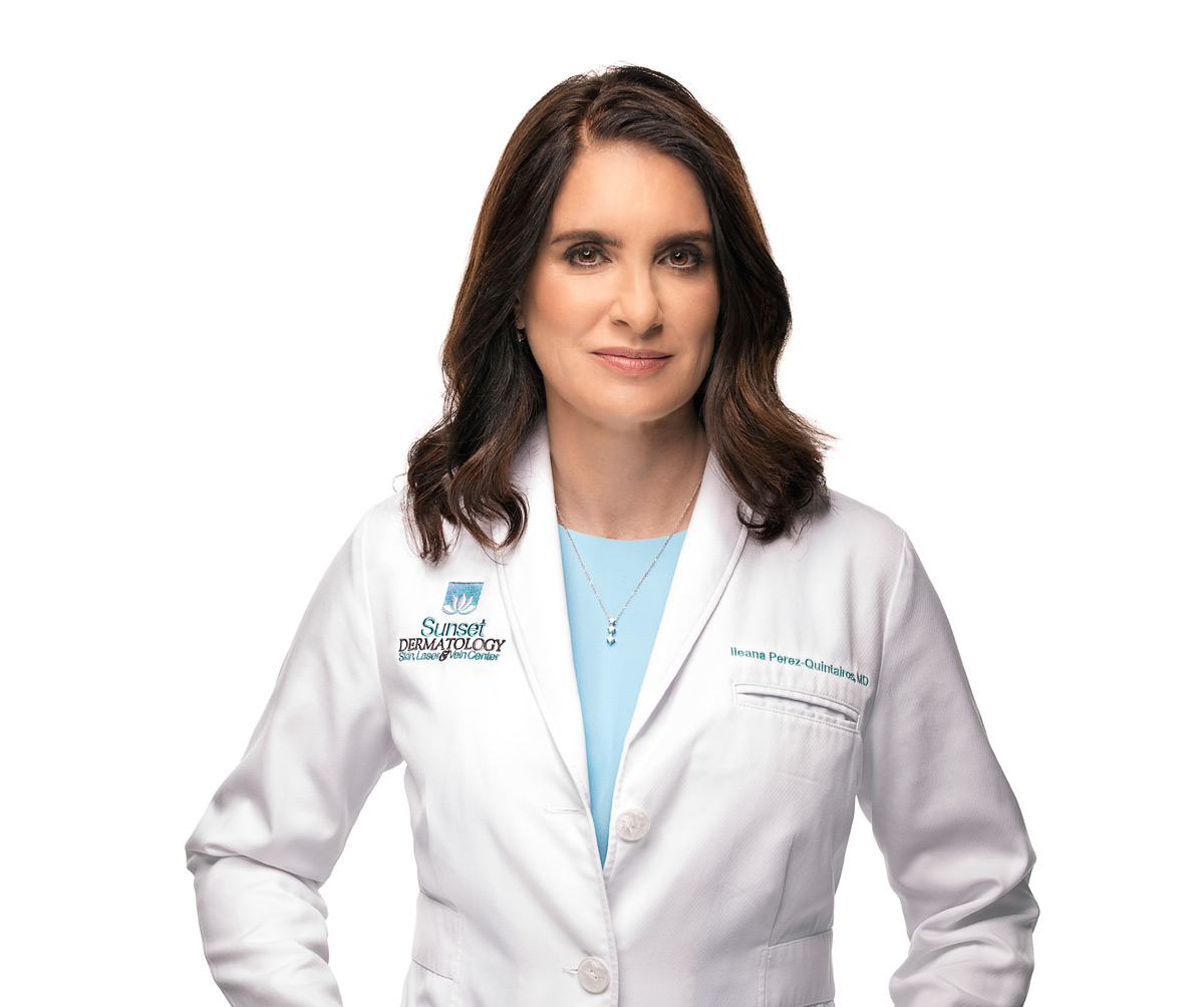 Ileana Perez-Quintairos, MD, Board Certified Dermatologist at Sunset Dermatology in South Miami. Photo #1.
