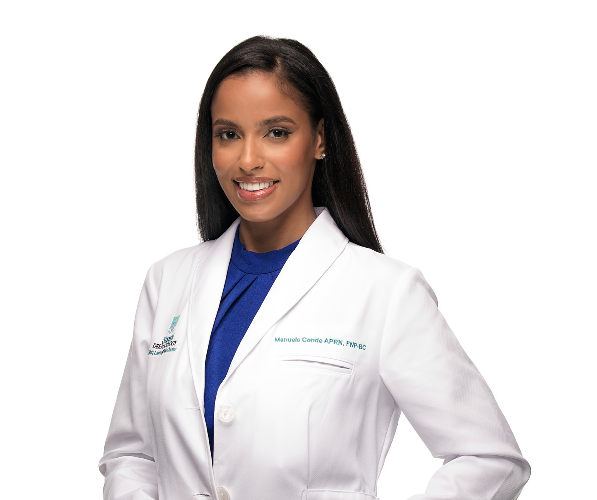 Manuela Conde, BHSA, CTL, Cosmetic Consultant & CoolSculpting Specialist at Sunset Dermatology in South Miami.