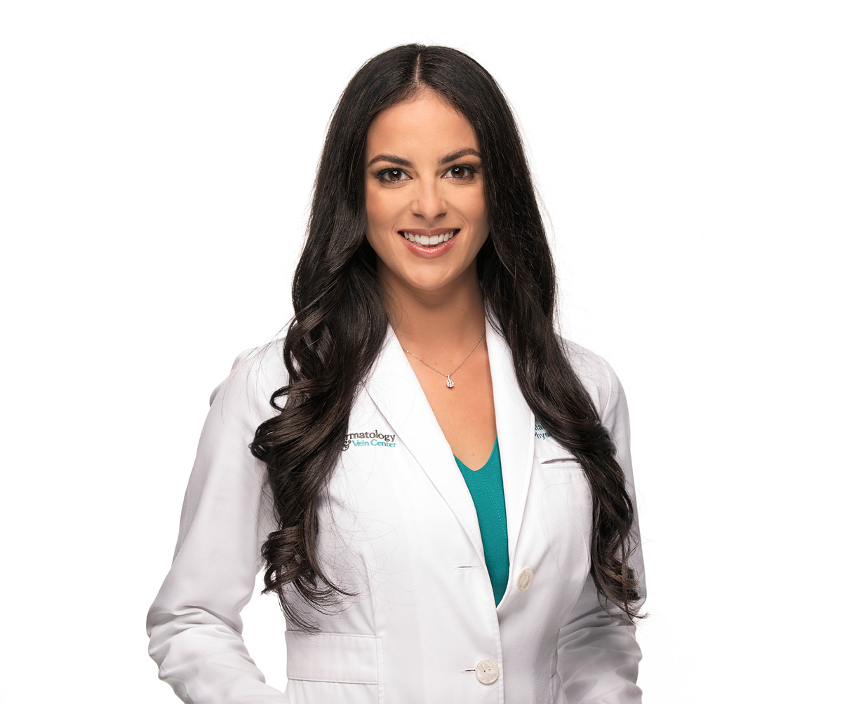 Natalie Suarez, PA-C, Certified Physician Assistant at Sunset Dermatology in South Miami.
