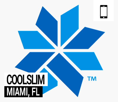 CoolSlim website for Bowes Dermatology by Riverchase in Miami, FLorida.