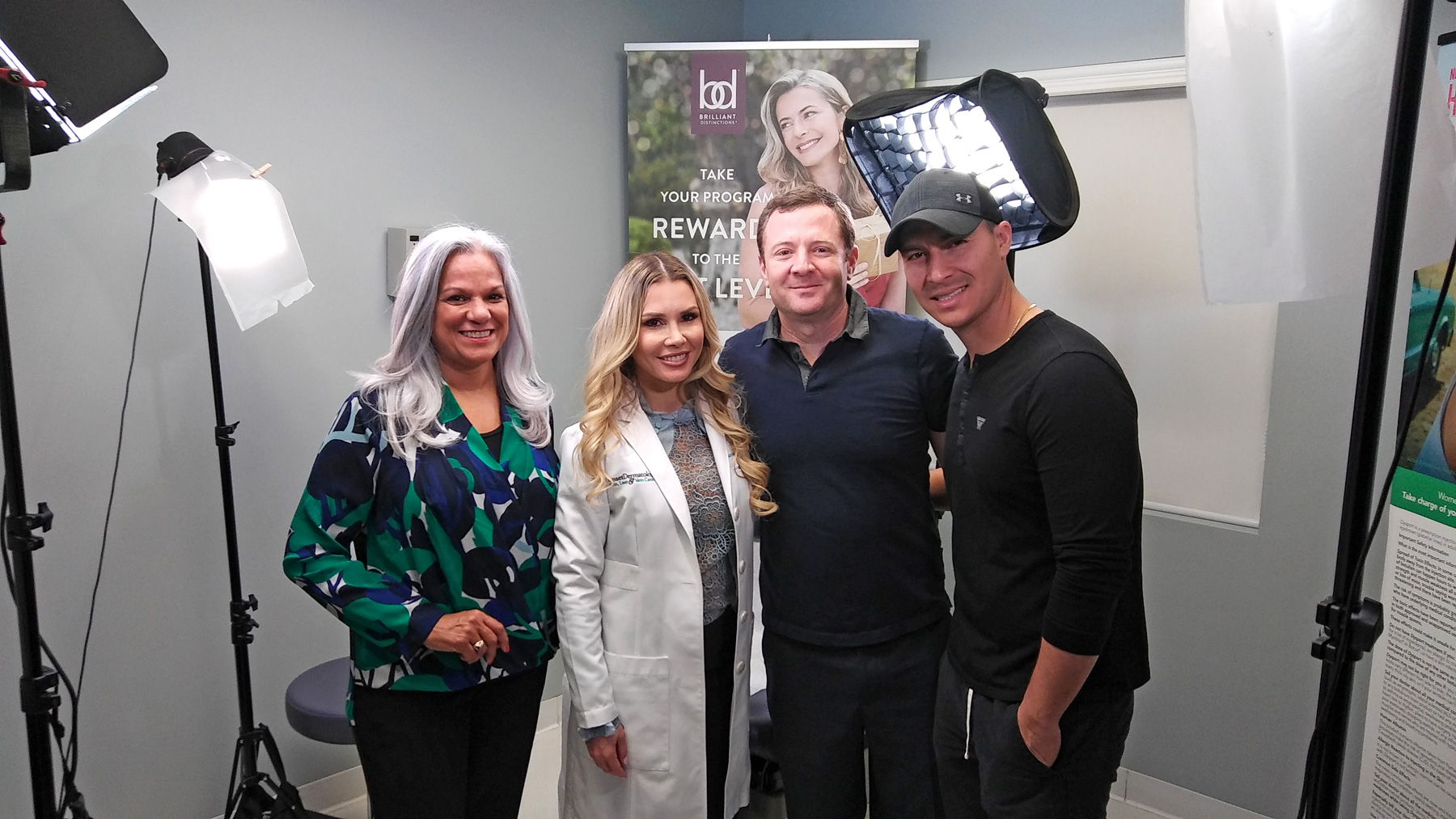 It's a wrap! Mission accomplished successfully. BOTOX®, Dysport® and Xeomin® educational video at Sunset Dermatology.