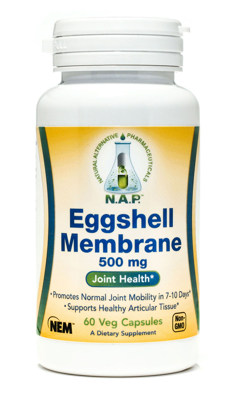 Eggshell Membrane Joint Health Capsules product photograph.