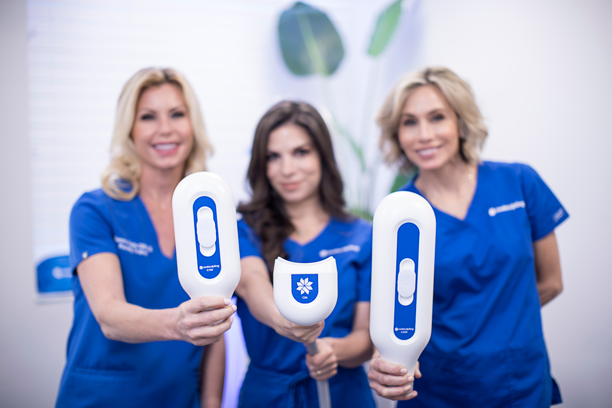 CoolsCulpting providers at Riverchase Dermatology in Miami, FL.