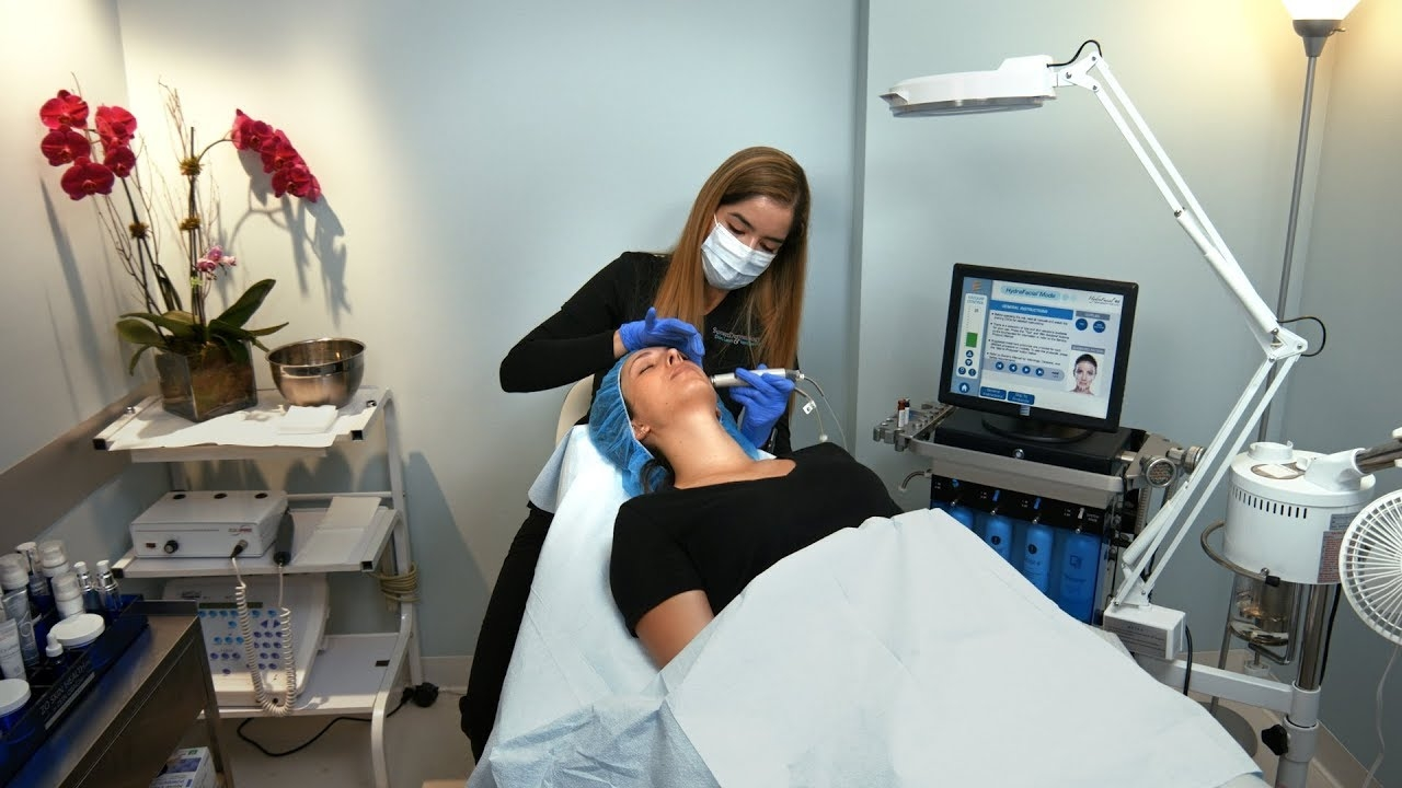 HydraFacial treatment, educational video produced for Sunset Dermatology in South Miami.