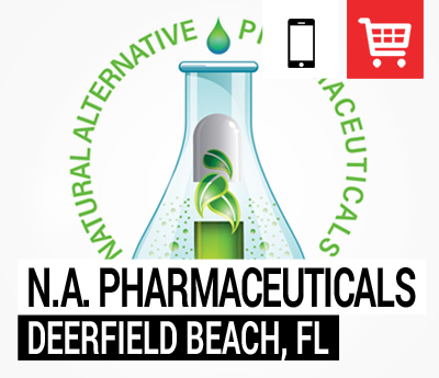 Natural Alternative Pharmaceuticals mobile friendly online store created by Redmonkie® in Deerfield Beach, Florida.
