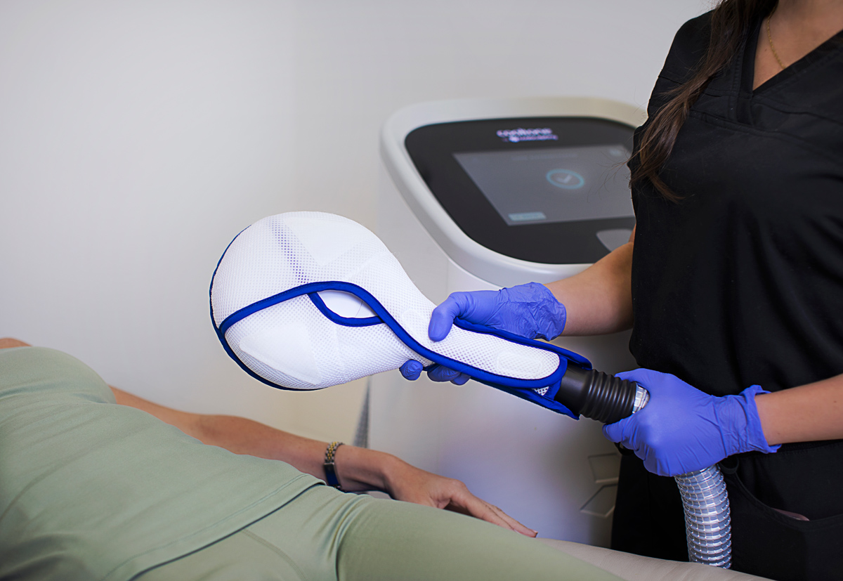 CoolTone photo shoot for Riverchase Dermatology in Miami, FL.