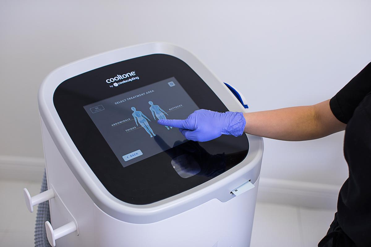CoolTone Machine at Riverchase Dermatology in Miami, FL.