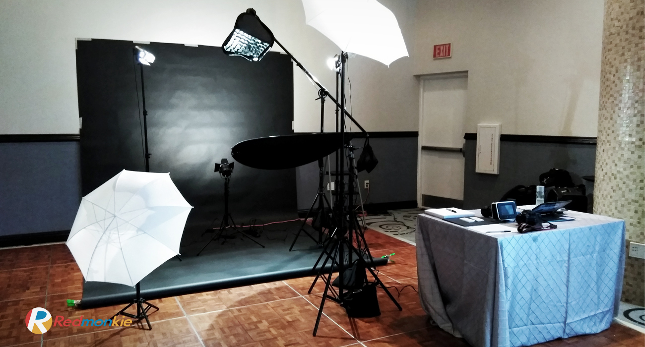 Behind The Scene for Photo Shoot at Trump International Beach Resort for The Chiropractic Night of The Round Table.