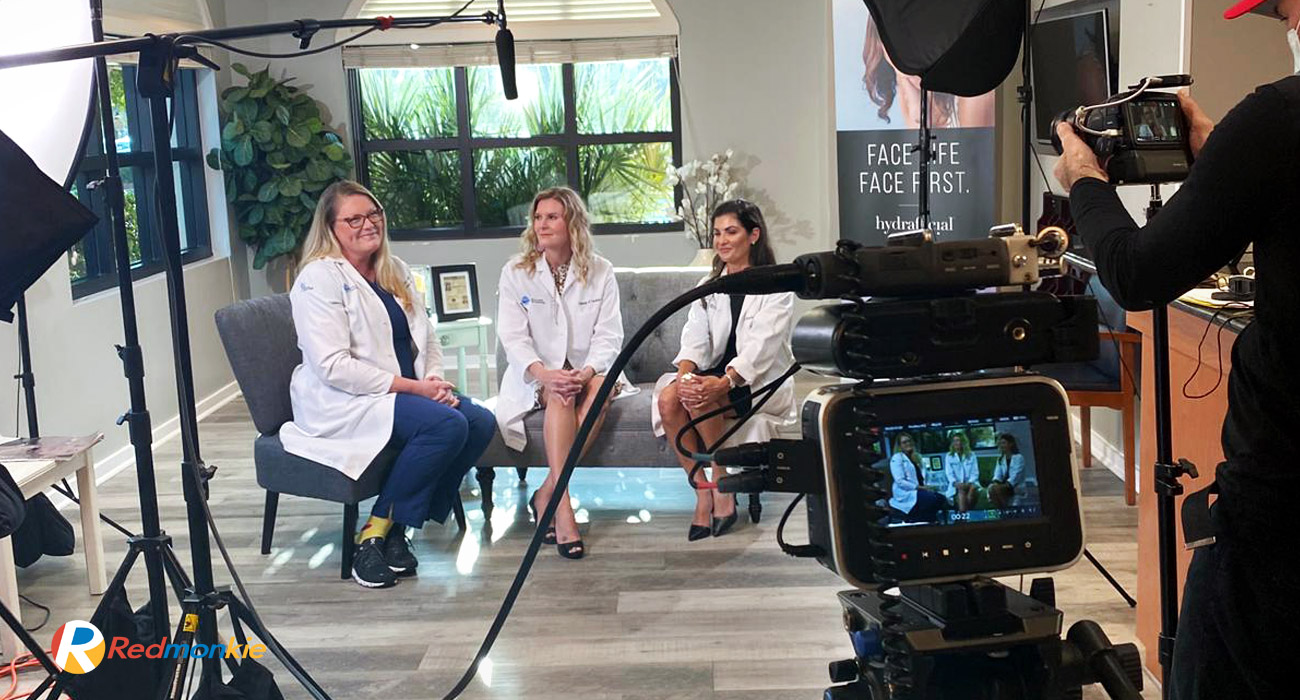 Video production services for Riverchase Dermatology in Naples, FL by Redmonkie®.
