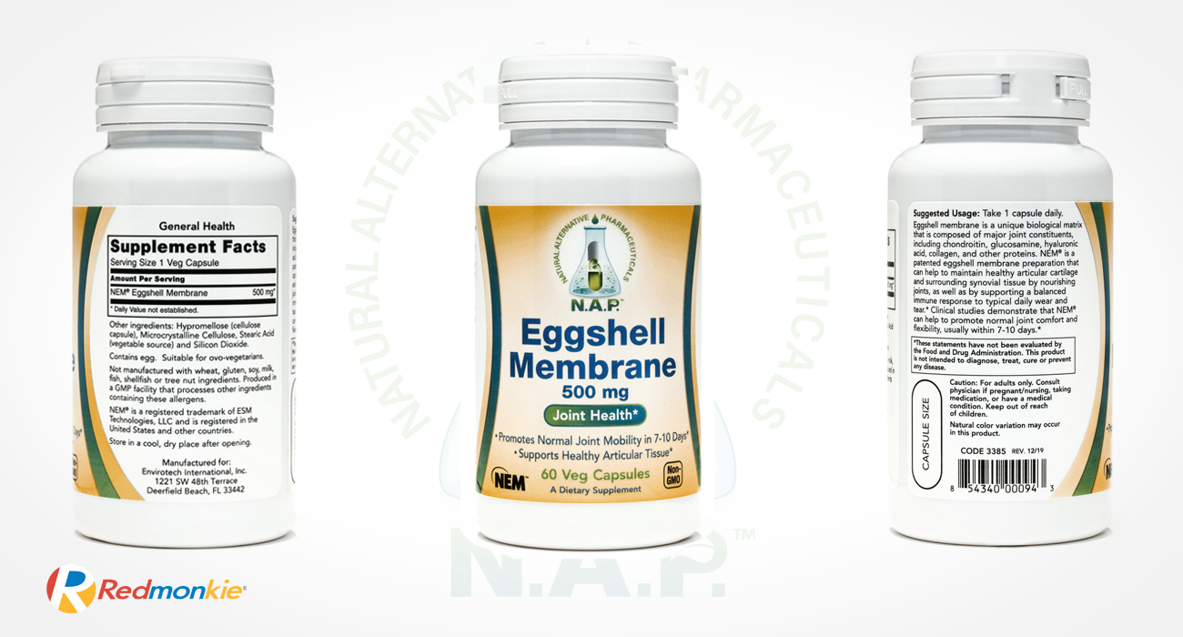 Product photograph for Natural Alternative Pharmaceuticals, a subdivision of Envirotech International, Inc.