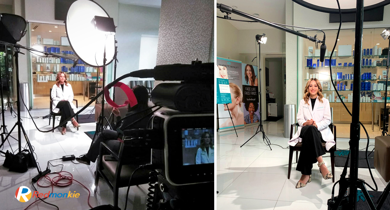 Behind The Scenes of Laser Hair Removal Educational Video for Sunset Dermatology by Jannel Pichardo, PA-C .