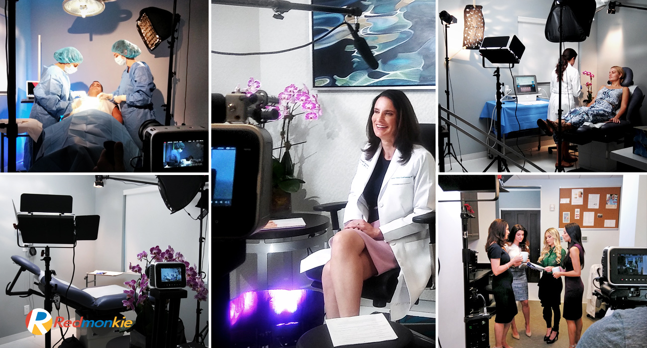 Behind The Scenes of Promotional Video for Sunset Dermatology by Dr. Ileana Perez-Quintairos